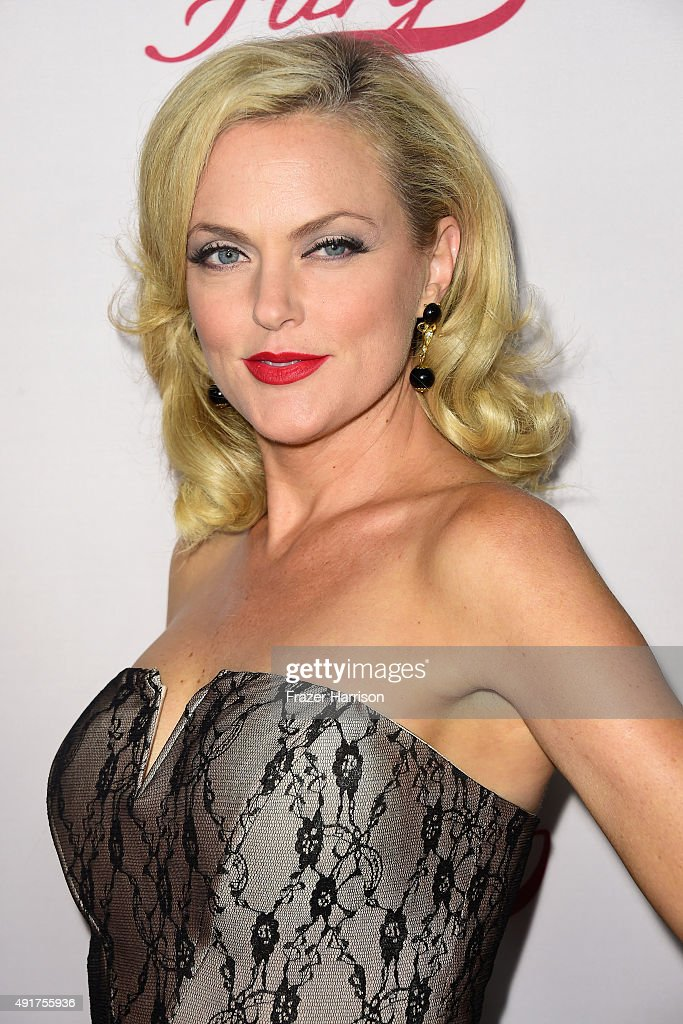Actress Elaine Hendrix arrives at the Premiere Screening