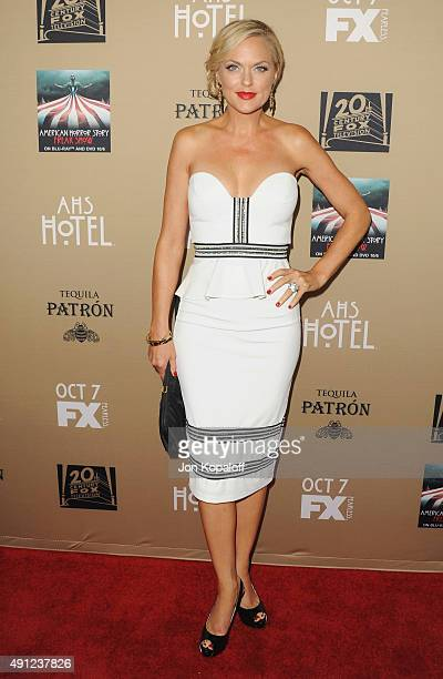 """Actress Elaine Hendrix arrives at the Premiere Screening Of FX's """"American Horror Story: Hotel"""" at Regal Cinemas L.A. Live on October 3, 2015 in Los..."""