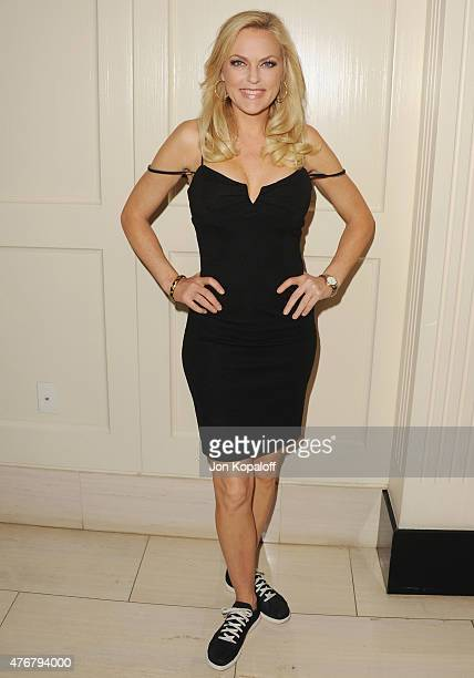 Actress Elaine Hendrix arrives at TheWrap's 2nd Annual Emmy Party at The London on June 11, 2015 in West Hollywood, California.