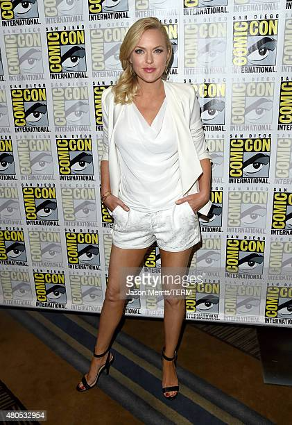 """Actress Elaine Hendrix attends FX's """"Sex&Drugs&Rock&Roll"""" Press Line during Comic-Con International 2015 at Hilton Bayfront on July 12, 2015 in San..."""