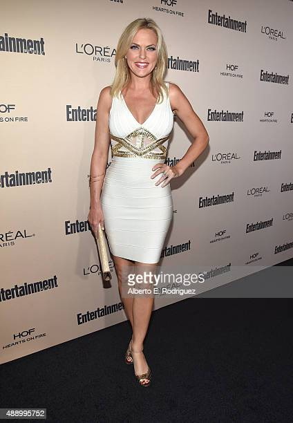 Actress Elaine Hendrix attends the 2015 Entertainment Weekly PreEmmy Party at Fig Olive Melrose Place on September 18 2015 in West Hollywood...