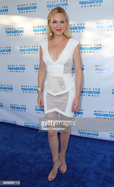 Actress Elaine Hendrix attends the Hidden Heroes Gala presented by Mercy for Animals at Unici Casa on August 29 2015 in Culver City California