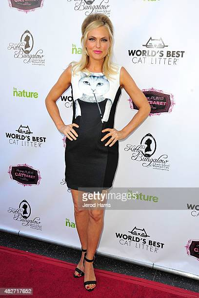 Actress Elaine Hendrix attends the Kitty Bungalow Charm School for Wayward Cats presents CATbaret on August 1 2015 in Hollywood California