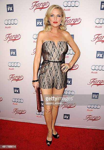 "Actress Elaine Hendrix attends the premiere of FX's ""Fargo"" season 2 at ArcLight Cinemas on October 7, 2015 in Hollywood, California."