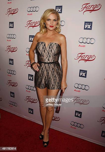 Actress Elaine Hendrix attends the premiere of FX's 'Fargo' Season 2 held at ArcLight Cinemas on October 7 2015 in Hollywood California