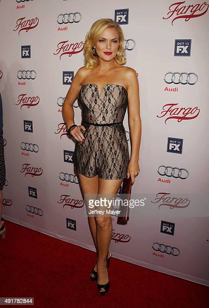 Actress Elaine Hendrix attends the premiere of FX's 'Fargo' Season 2 held at ArcLight Cinemas on October 7, 2015 in Hollywood, California.