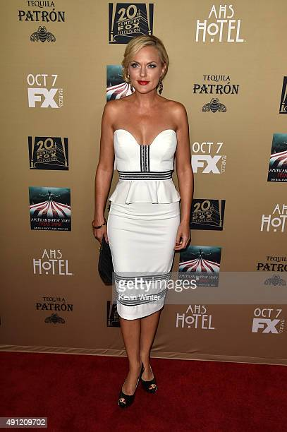 """Actress Elaine Hendrix attends the premiere screening of FX's """"American Horror Story: Hotel"""" at Regal Cinemas L.A. Live on October 3, 2015 in Los..."""