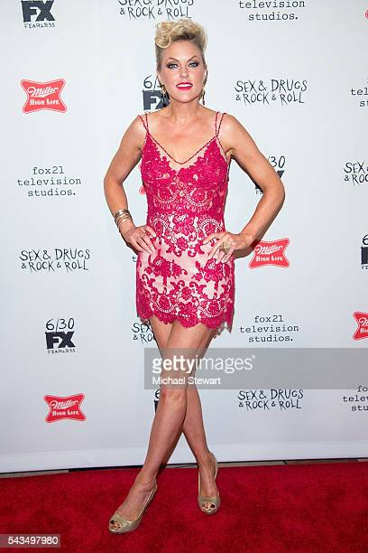 "Actress Elaine Hendrix attends the ""Sex&Drugs&Rock&Roll"" Season 2 premiere at AMC Loews 34th Street 14 theater on June 28, 2016 in New York City."