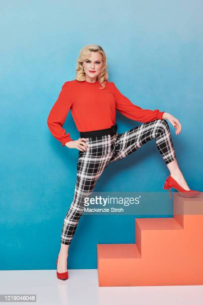 Actress Elaine Hendrix is photographed for Entertainment Weekly Magazine on February 27, 2020 at Savannah College of Art and Design in Savannah,...