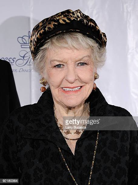 Actress Elaine Stritch attends the 2009 Princess Grace Awards Gala at Cipriani 42nd Street on October 21 2009 in New York City