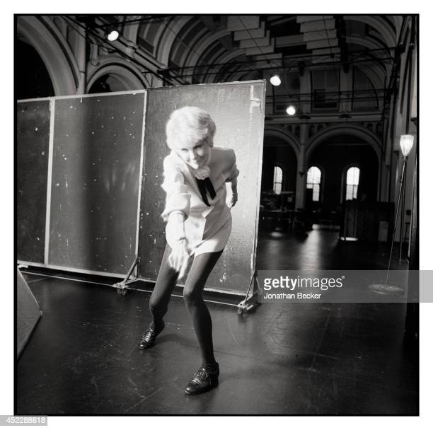 Actress Elaine Stritch is photographed for The New Yorker on October 2 2001 at the Joseph Papp Public Theater in New York City