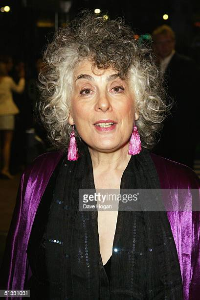 Actress Eleanor Bron arrives at the UK Premiere of Wimbledon at the Empire Leicester Square on September 20 2004 in London