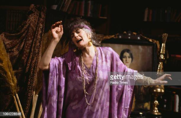 Actress Eleanor Bron in a scene from episode 'Magazine' of the BBC television sitcom 'Absolutely Fabulous' March 18th 1992