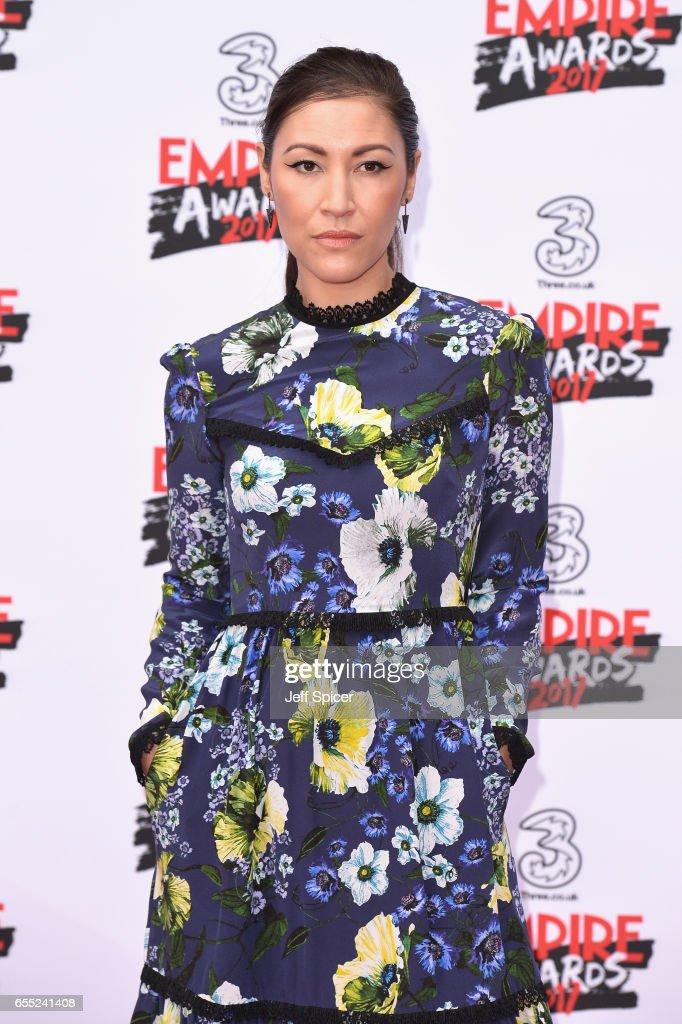 Three Empire Awards - Red Carpet Arrivals : News Photo
