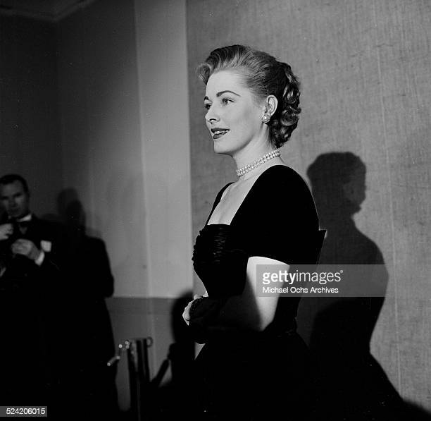 Actress Eleanor Parker attends the Oscar Nominations in Los AngelesCA