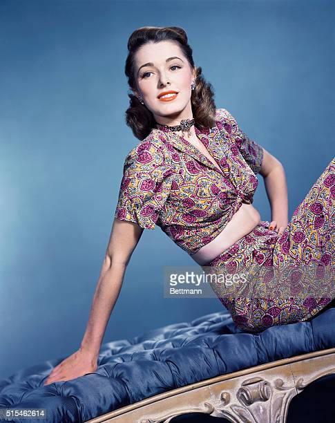 10/1948 Actress Eleanor Parker UPI color slide