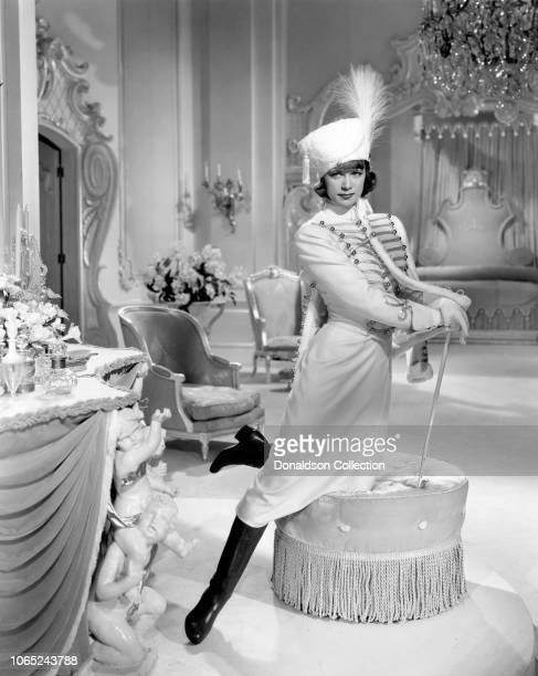 Actress Eleanor Powell in a scene from the movie Rosalie