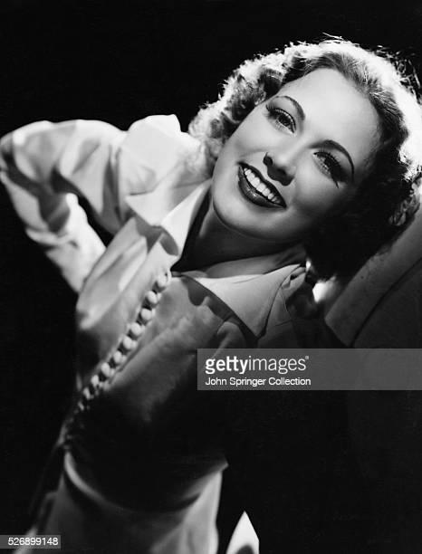Actress Eleanor Powell Smiling