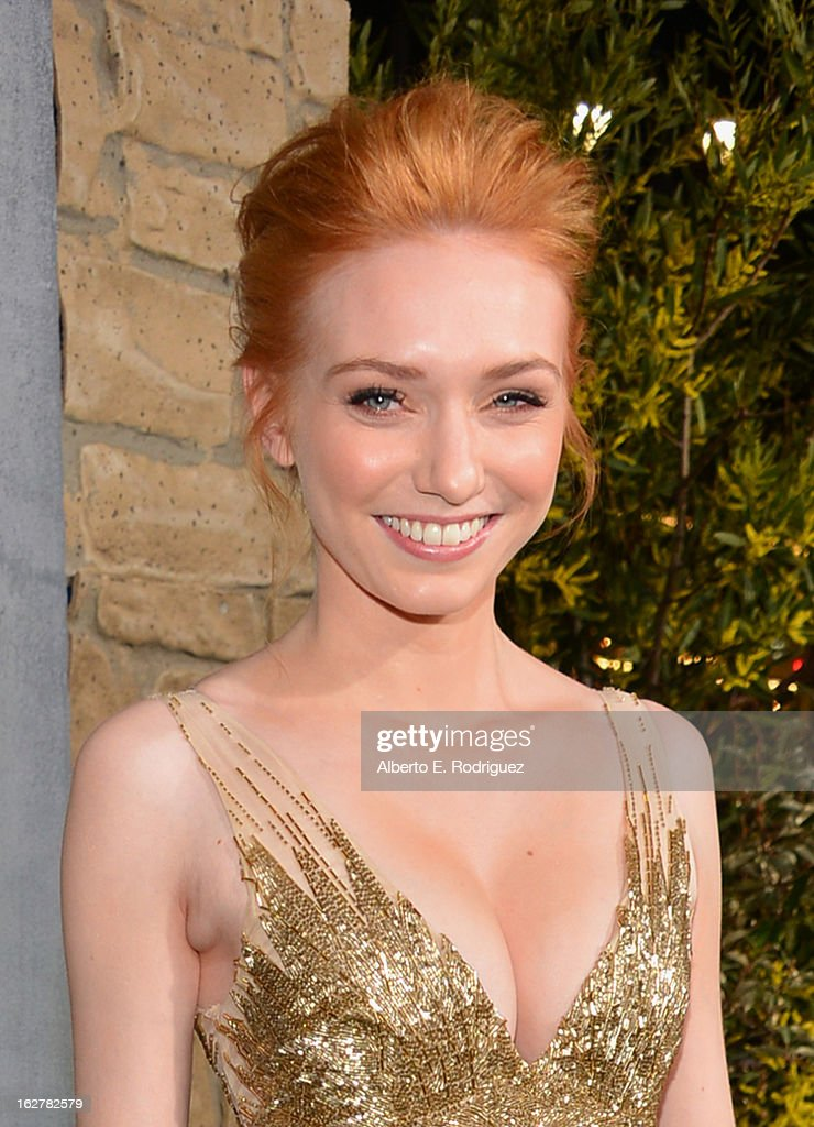 Actress Eleanor Tomlinson attends the premiere of New Line Cinema's 'Jack The Giant Slayer' at TCL Chinese Theatre on February 26, 2013 in Hollywood, California.