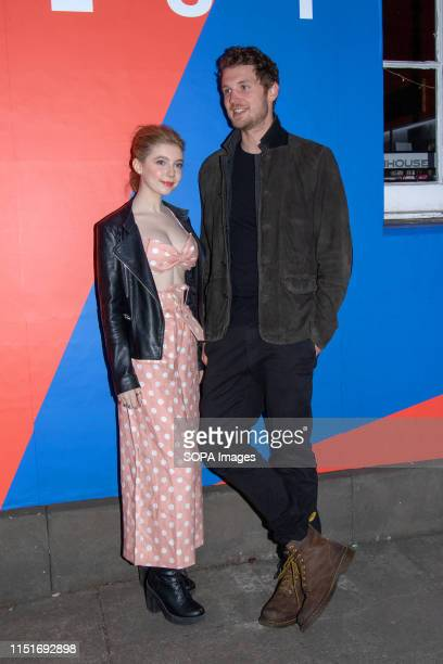 Actress Eleanor WorthingtonCox and Director William McGregor at a photo call during the UK film premiere of Gwen at Filmhouse in Edinburgh Gwen is...