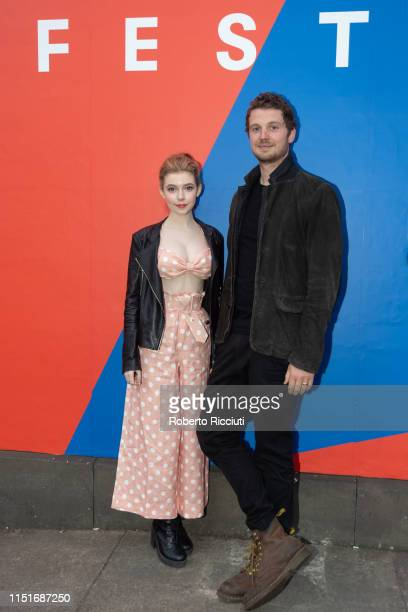 Actress Eleanor WorthingtonCox and director William McGregor attend a photocall for the UK Premiere of 'Gwen' during the 73rd Edinburgh International...