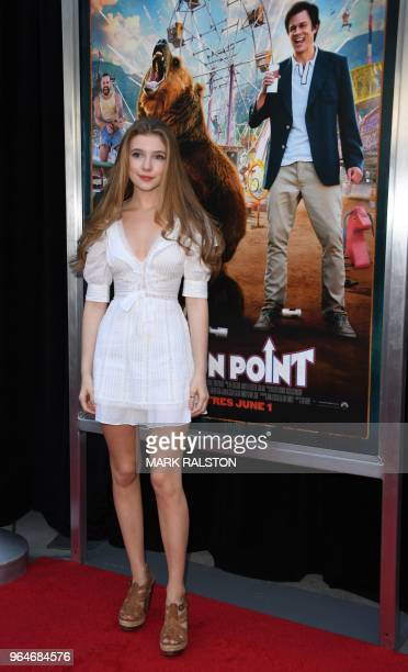 Actress Eleanor WorthingtonCox arrives for the premiere of Paramount Pictures' 'Action Point' at the ArcLight Hollywood in Hollywood California on...