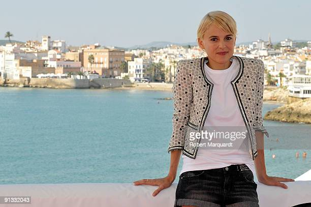 Actress Elena Anaya attends a photocall for her latest film Hierro at Sitges on October 2 2009 in Barcelona Spain