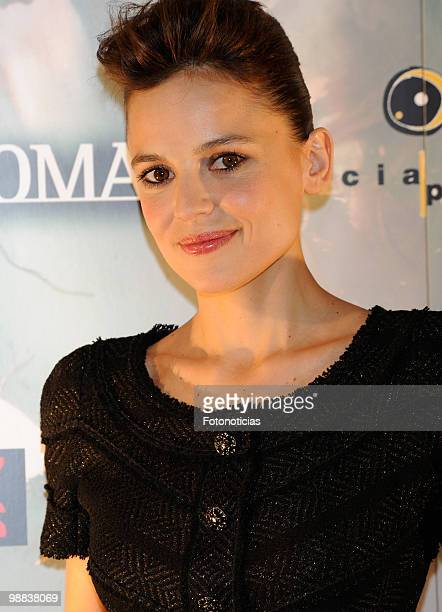 Actress Elena Anaya attends 'Habitacion en Roma' photocall at Ideal Cinema on May 4 2010 in Madrid Spain