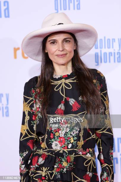 Actress Elena Anaya attends the 'Dolor y Gloria' premiere at Capitol cinema on March 13 2019 in Madrid Spain