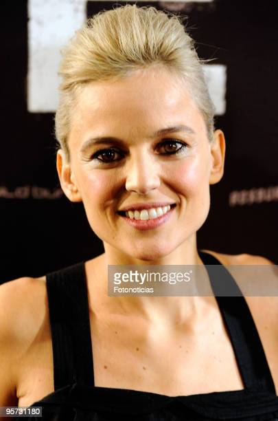 Actress Elena Anaya attends the Hierro premiere at Callao Cinema on January 12 2010 in Madrid Spain