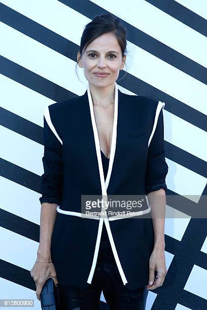 Actress Elena Anaya attends the Louis Vuitton show as part of the Paris Fashion Week Womenswear Spring/Summer 2017 on October 5 2016 in Paris France