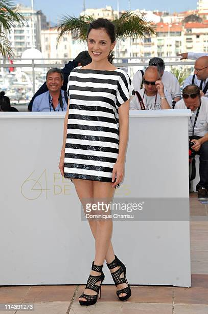 Actress Elena Anaya attends The Skin I Live In Photocall during the 64th Cannes Film Festival at the Palais des Festivals on May 19 2011 in Cannes...