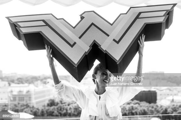 Actress Elena Anaya attends 'Wonder Woman' photocall at Hotel NH Collection Madrid Suecia on June 22 2017 in Madrid Spain