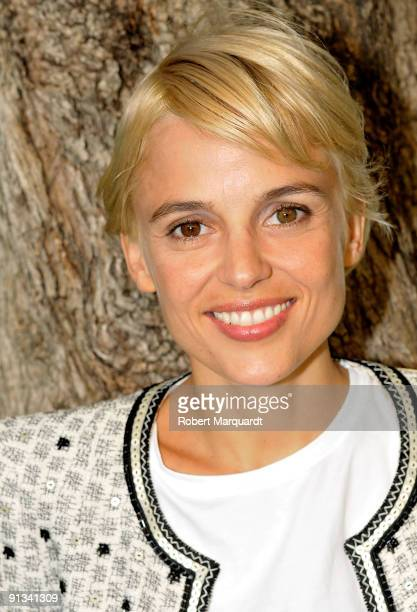 Actress Elena Anaya poses for a photo during a private portrait session at the 42nd Sitges Film Festival on October 2 2009 in Barcelona Spain