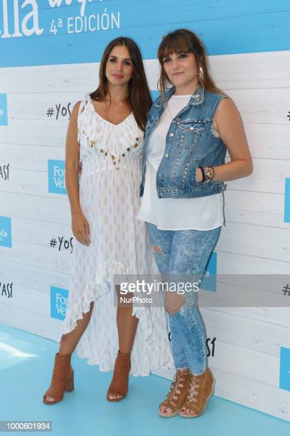 Singer Rozalen presents 'Yo Soy Asi' campaign by Font Vella at Room Mate Oscar Hotel on July 17 2018 in Madrid Spain