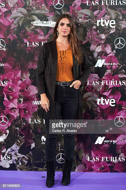 Actress Elena Furiase attends 'Las Furias' premiere at Pavon Theater on November 7 2016 in Madrid Spain