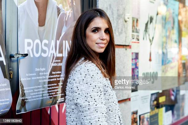 Actress Elena Furiase attends `Rosalinda' photocall at Artistic Metropol cinema on December 03, 2020 in Madrid, Spain.