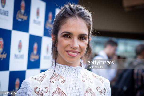 Actress Elena Furiase attends the 6th Paulaner Oktoberfest opening at Rolling Disco Chamartin on September 19, 2019 in Madrid, Spain.