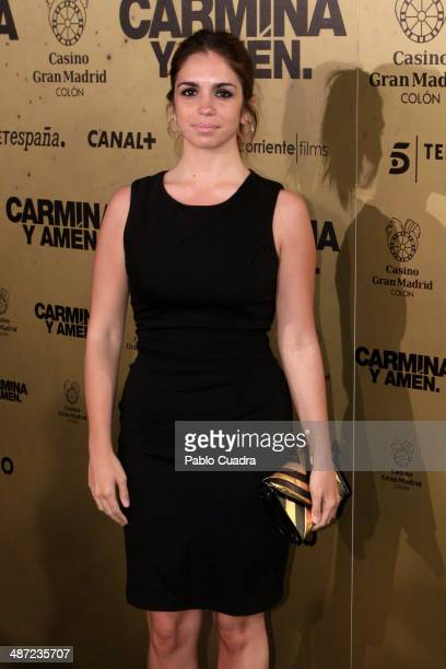 Actress Elena Furiase attends the 'Carmina y Amen' premiere at the Callao cinema on April 28 2014 in Madrid Spain