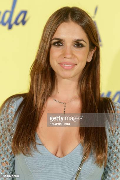 Actress Elena Furiase attends the 'La Llamada' premiere at Capitol cinema on September 26 2017 in Madrid Spain