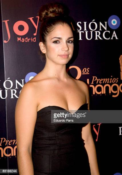 Actress Elena Furiase attends the photocall of the 'Shangay' film on October 7 2008 in Madrid Spain