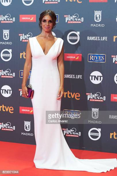 Actress Elena Furiase attends the Platino Awards 2017 photocall at the La Caja Magica on July 22 2017 in Madrid Spain