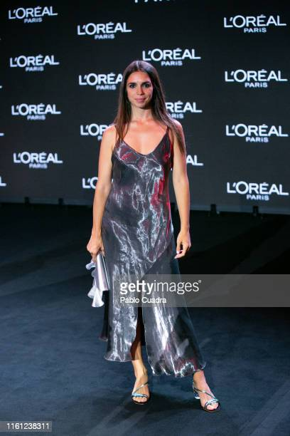 Actress Elena Furiase attends the runway at theL'Oreal Paris 'Porque Tu Lo Vales' fashion show during the Mercedes Benz Fashion Week Spring/Summer...