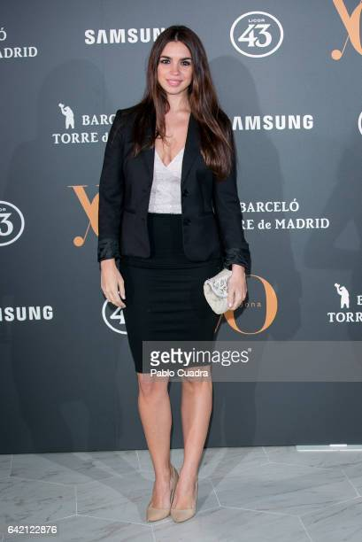 Actress Elena Furiase attends the 'Yo Dona' party that inaugurates MercedesBenz Fashion Week Madrid Autumn/ Winter 2017 at Barcelo Torre de Madrid...