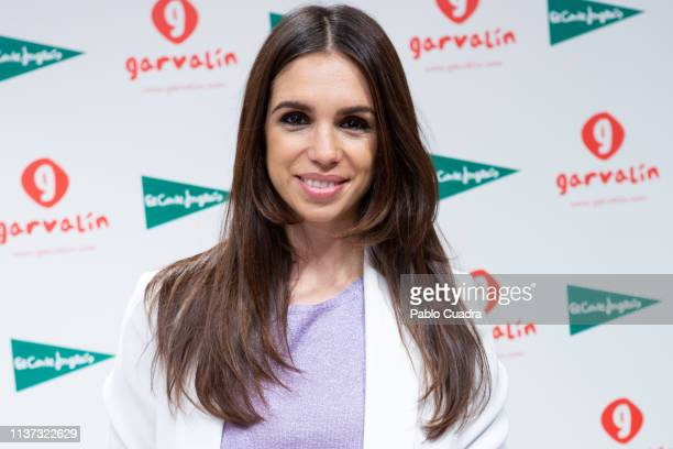 Actress Elena Furiase presents Garvalin new collection at El Corte Ingles store on March 21, 2019 in Madrid, Spain.