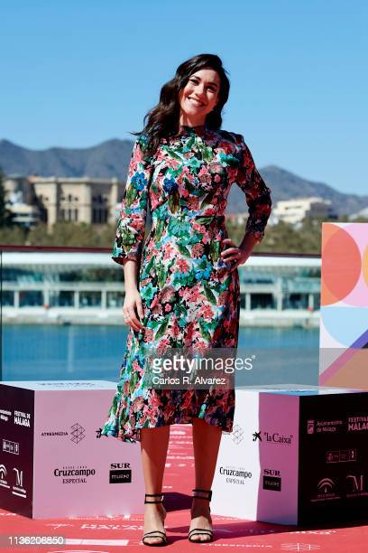 Actress Elena Martinez attends 'El Amor es de otro Planeta' photocall during the 22th Malaga Film Festival on March 16 2019 in Malaga Spain