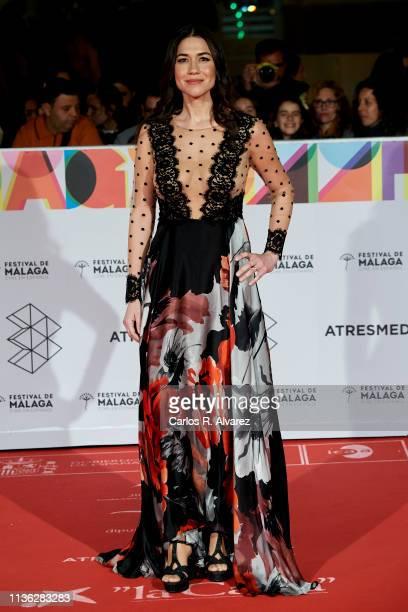 Actress Elena Martinez attends 'Esto no es Berlin' premiere during the 22th Malaga Film Festival on March 16 2019 in Malaga Spain