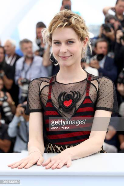 actress Elena Radonicich attends the 'In My Room' Photocall during the 71st annual Cannes Film Festival at Palais des Festivals on May 17 2018 in...
