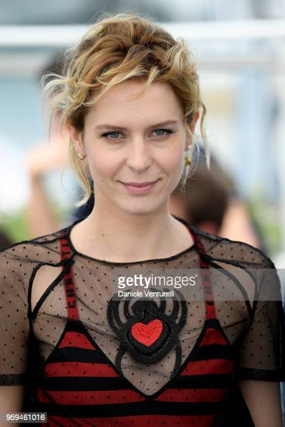 Actress Elena Radonicich attends the photocall for 'In My Room' during the 71st annual Cannes Film Festival at Palais des Festivals on May 17 2018 in...