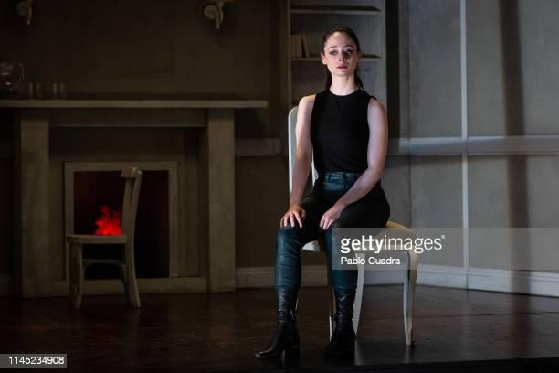 Actress Elena Rivera attends La Vuelta De Nora Casa De Muñecas 2 photocall at Bellas Artes Theatre on April 26 2019 in Madrid Spain
